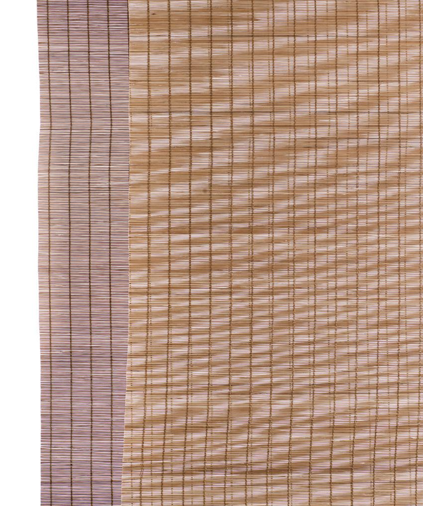 6ff75a87 Brun fin bambus panelgardin - beskæres efter mål - fantastisk stemning
