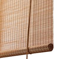 Brun fin bambus <br>(94002-CAR)