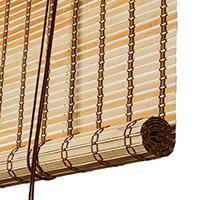 Brun natur bambus <br>(70054)