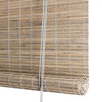 Grå bejdset heldækkende bambus <br>(81535-PGR)