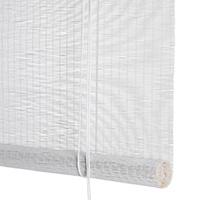 Hvid fin bambus <br>(94002-WHT)