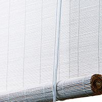 Hvidt bambus <br>(70010-WHT)